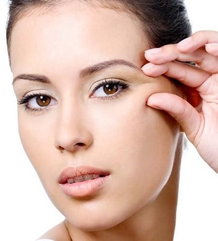 Как убрать морщины вокруг глаз и лоб
